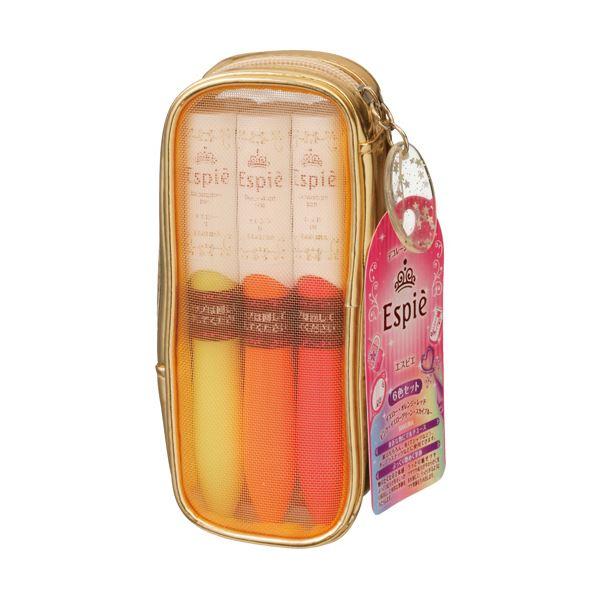 (まとめ)サクラクレパス 水性ペン エスピエデコレーションペン 中字 6色(各色 1本)EK6A 1パック【×5セット】:BKワールド