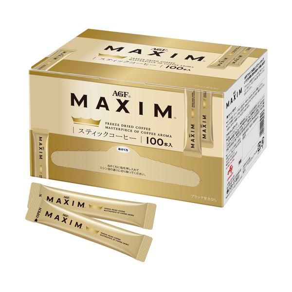 (まとめ)味の素AGF マキシムスティックコーヒー 2g 1箱(100本)【×5セット】