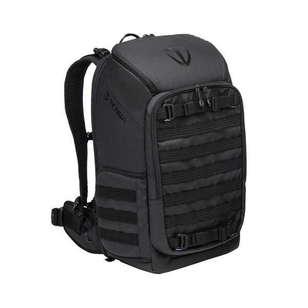 アクシス タクティカルバックパックはどのような撮影スタイルにも適合できる3点カメラアクセスシステム トップとサイド 背面の3箇所 を採用 エツミ Axis 24L 激安通販販売 Tactical Black V637-702 Backpack 即出荷