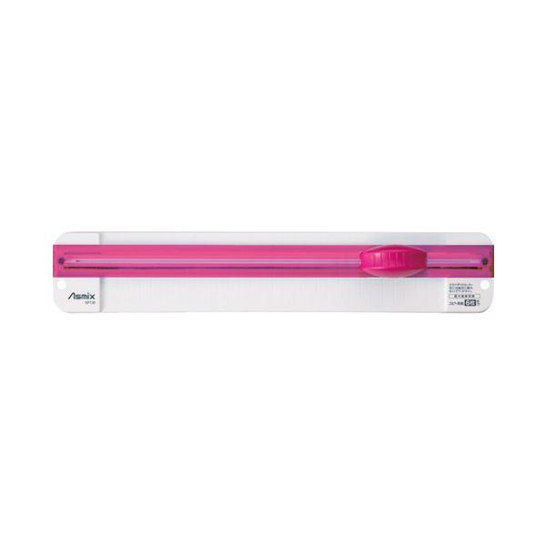 (まとめ)アスカ スライドカッター SPT30P ピンク【×30セット】