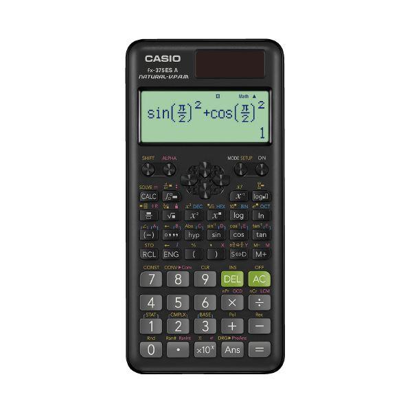 (まとめ)カシオ計算機 スタンダード関数電卓 FX-375ESA-N(×5セット)