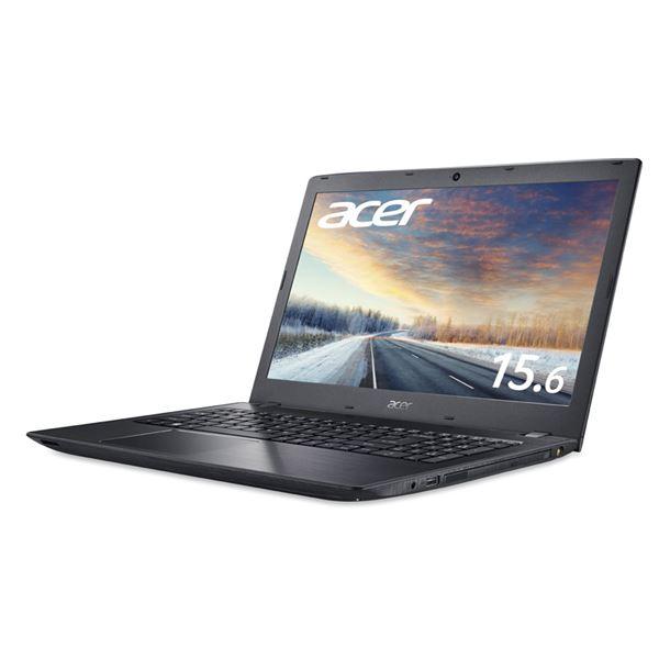 Acer TMP259G2M-F78UAB9 (Core i7-7500U/16GB/256GBSSD/DVD+/-RW/15.6型/フルHD/Windows 10 Pro 64bit/1年保証/ブラック/OfficeHome&Business 2019)