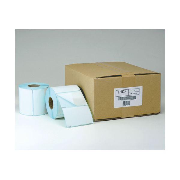 東洋印刷 ナナクリエイト感熱ロールラベル(医療向) 82mm幅 78×46mm ミシン・裏面マーク入 THR-3D1箱(4000枚:1000枚×4巻)