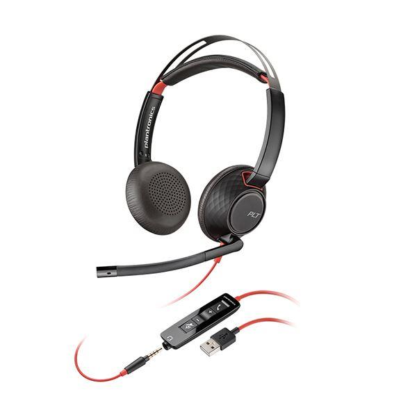 プラントロニクス UCヘッドセットBlackwire C5220 USB-A 207576-01 1個