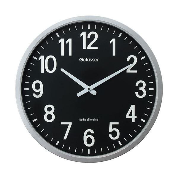 ラドンナ 電波掛時計 ザラージ 黒文字盤GDK-001K 1台