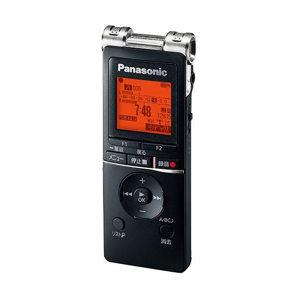 パナソニック ICレコーダー 8GBブラック RR-XS470-K 1台
