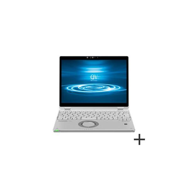 パナソニック Let's note QV8 法人(Corei7-8665UvPro/16GB/SSD512GB/W10P64/12.0WQXGA/LTE/顔認証) CF-QV8UFLVS