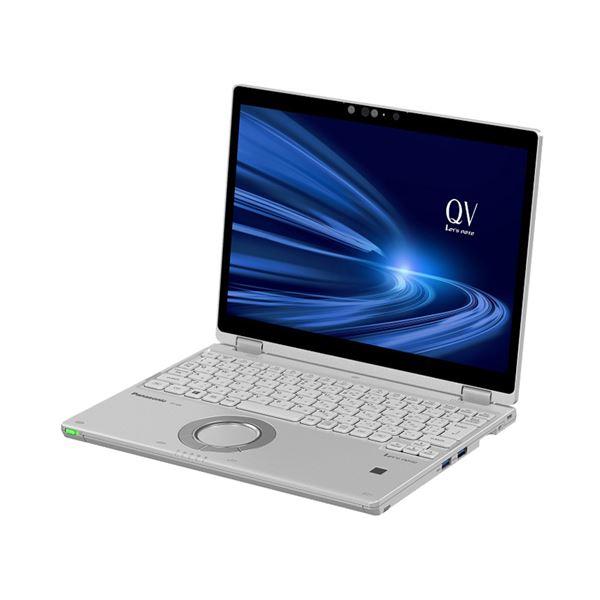 パナソニック Let's note QV9 店頭(Corei5-10210U/SSD256GB/W10Pro64/12.0WQXGA+/シルバー/OFHB2019) CF-QV9HDGQR