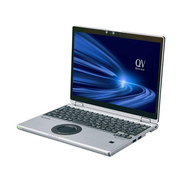 パナソニック Let's note QV9 店頭(Core i5-10210U/SSD256GB/RAM16GB/W10Pro64/12.0WQXGA+/ブラック&シルバー/OFHB2019) CF-QV9HDMQR