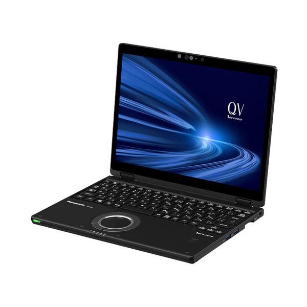 パナソニック Let's note QV9 店頭(Corei7-10710U/SSD512GB/W10Pro64/12.0WQXGA+/ブラック/OFHB2019/LTE) CF-QV9KFNQR