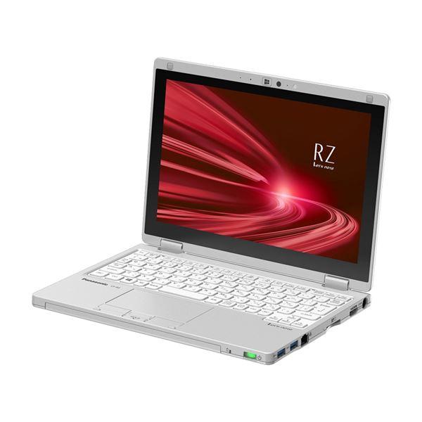 パナソニック Let's note RZ8 店頭(Corei5-8200Y/SSD256GB/W10Pro64/10.1WUXGA/シルバー/OFHB2019) CF-RZ8HDEQR