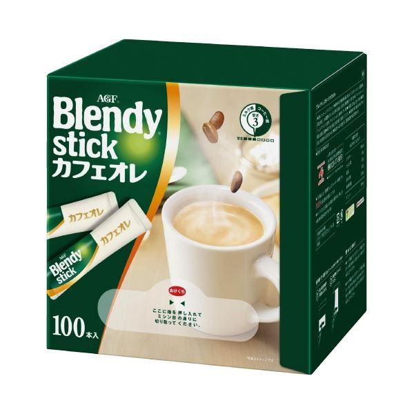 (まとめ)味の素AGF Blendyスティック カフェオレ 100本(×5セット)