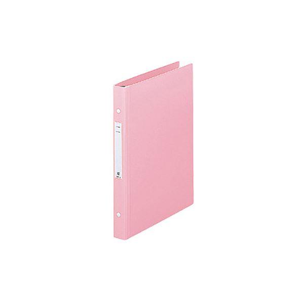 リヒトラブメディカルサポートブック・スタンダード A4タテ 2穴 180枚収容 ピンク HB656-51セット(10冊)