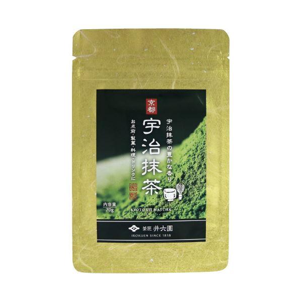 (まとめ)井六園 宇治抹茶 70g(×10セット)