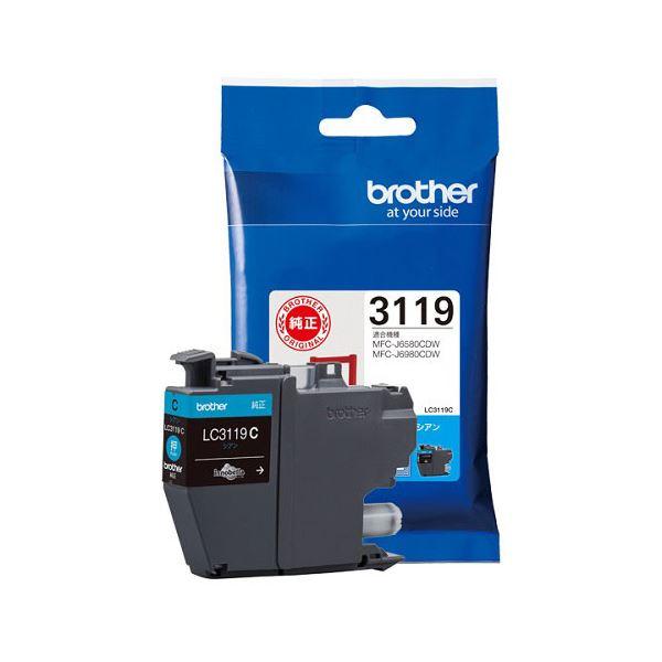 人気海外一番 まとめ 未使用品 ブラザー インクカートリッジLC3119C ×5セット