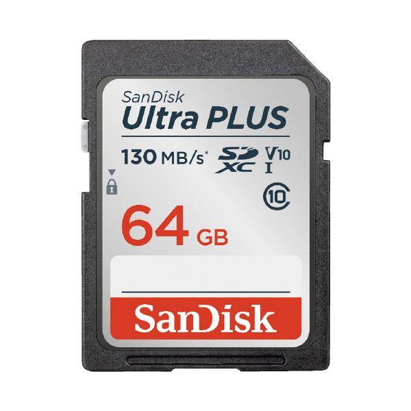 (まとめ)サンディスク SDXCカード 64GB SDSDUW3-064G-JNJIN(×10セット)