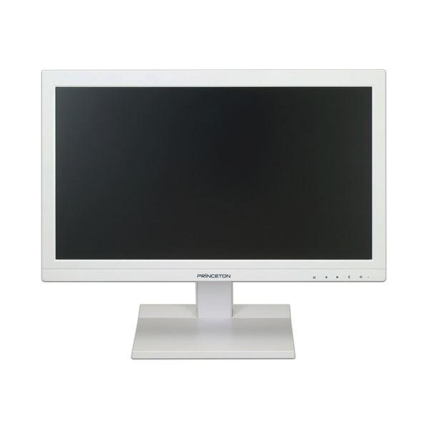 プリンストン 白色LEDバックライト19.5型ワイド液晶ディスプレイ ホワイト PTFWDF-20W 1台