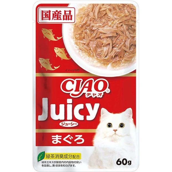 (まとめ)CIAO Juicy まぐろ60g (ペット用品・猫フード)【×96セット】