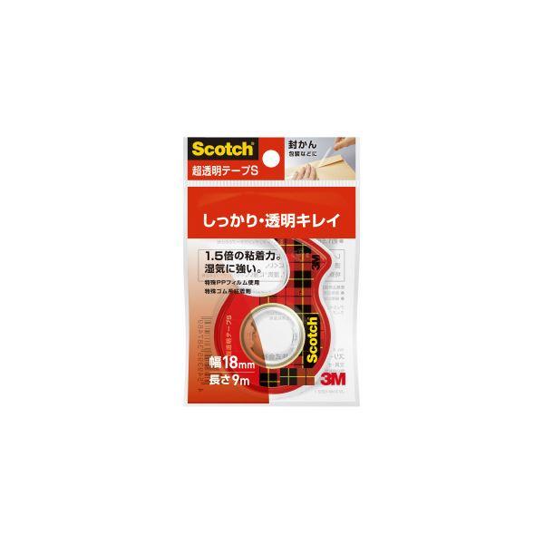 (まとめ)スリーエム ジャパン 超透明テープS 18mm×9m CC1809-D-N【×200セット】