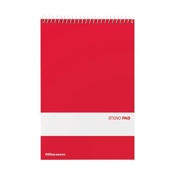 (まとめ) オフィスデポ ステノノート リングメモライトグリーン 70枚 143450 1パック(12冊) 【×5セット】