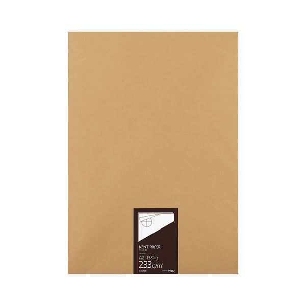 コクヨ 高級ケント紙 233g/m2A2カット セ-KP37 1冊(100枚)
