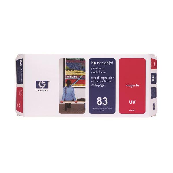 HP HP83プリントヘッド/クリーナーUV マゼンタ C4962A 1個