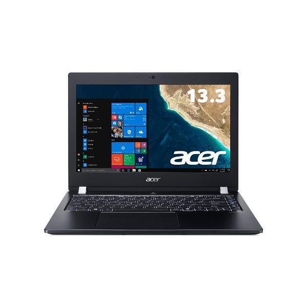 Acer TMX3310M-F58UBB6 (Core i5-8250U/8GB/256GBSSD+500GB HDD/ドライブなし/13.3型/HD/指紋認証/Windows 10 Pro64bit/LAN/HDMI/1年保証/Office Home&Business 2016) TMX3310M-F58UBB6