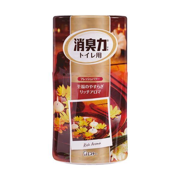 リッチアロマの香り エステー トイレの消臭力 (まとめ) 1セット(3個) 大人の至福 400ml 【×10セット】