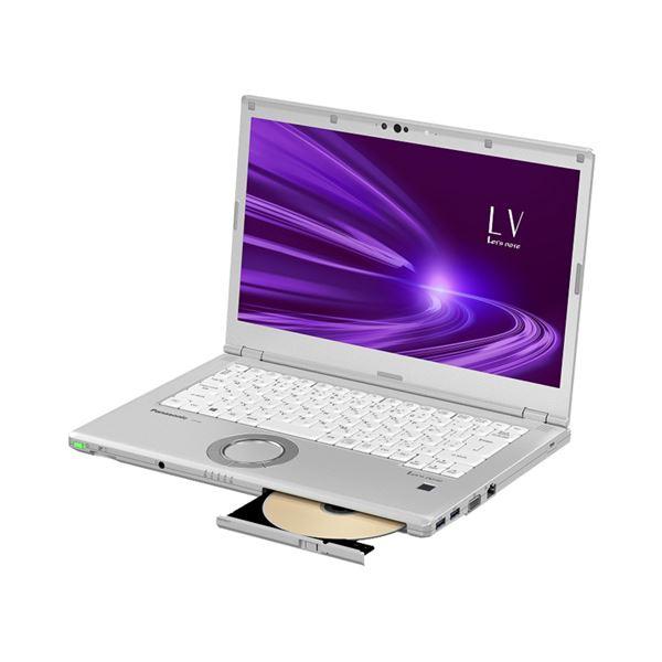 パナソニック Let's note LV9 店頭(Corei5-10210U/SSD256GB/SMD/W10Pro64/14FullHD/シルバー/OFHB2019) CF-LV9HDSQR