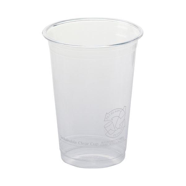 (まとめ)サンナップ サスティナブルクリアーカップ510mL 40個(×30セット)