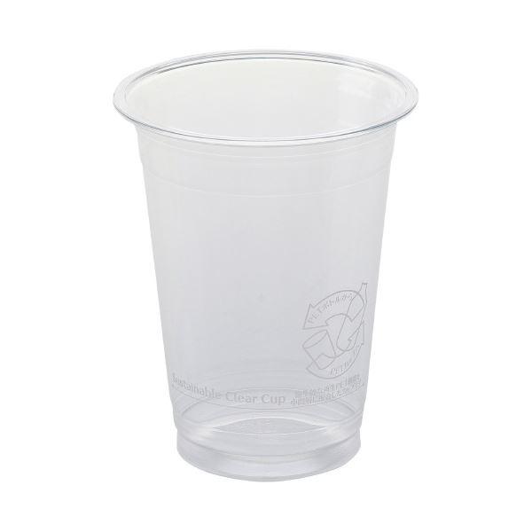 (まとめ)サンナップ サスティナブルクリアーカップ420mL 40個(×30セット)