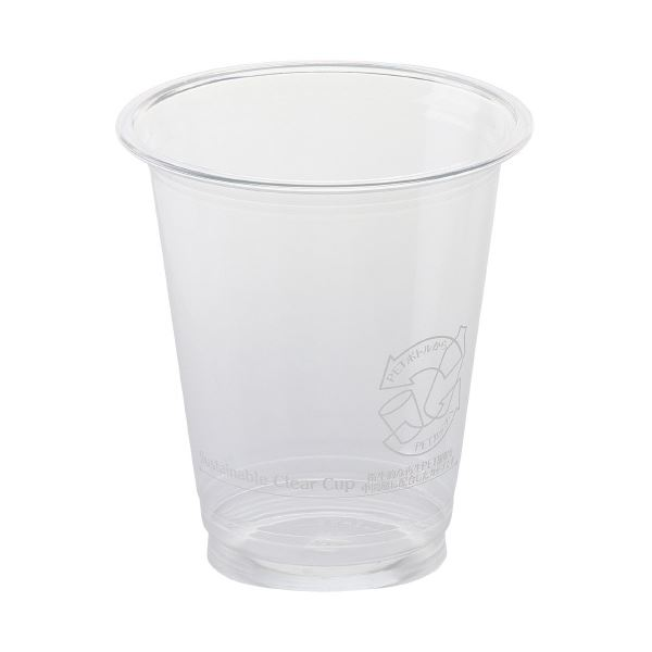(まとめ)サンナップ サスティナブルクリアーカップ370mL 40個(×30セット)