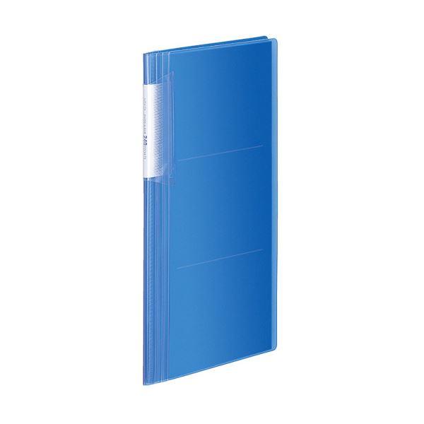 コクヨ フォトアルバム(ノビータ)A4スリム 3段 E・Lサイズ240枚収容 青 ラ-NA240B 1セット(10冊)