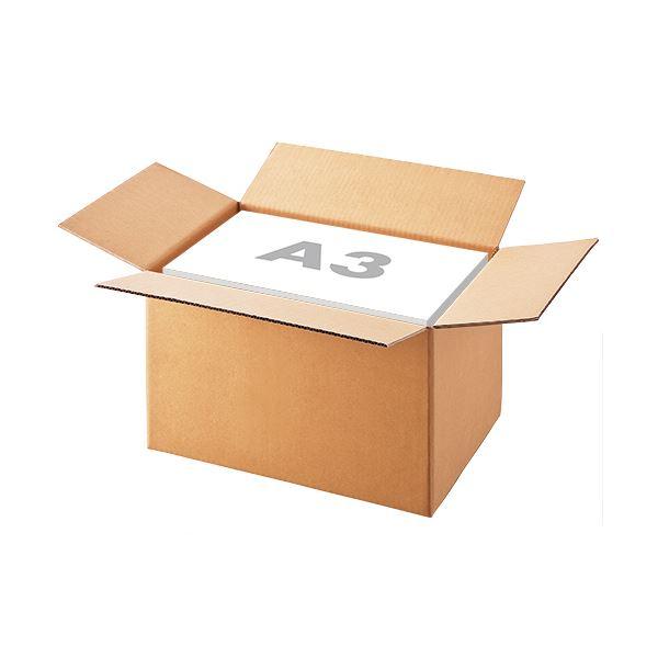 持ち運びや保存に便利な組み立て式オリジナル梱包用ダンボール箱 まとめ 半額 TANOSEE 無地ダンボール箱 A3 L 1パック 年間定番 高さ295mm ×5セット サイズ 10枚