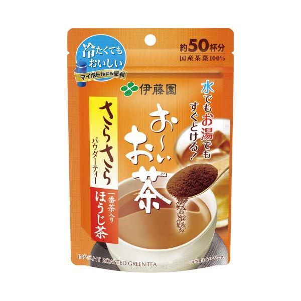 (まとめ)伊藤園 お~いお茶 さらさらほうじ茶 40g(×50セット)