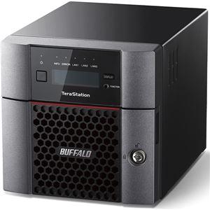 バッファロー TeraStation TS5210DFシリーズ 10GbE標準搭載 2ドライブSSD搭載NAS512GB