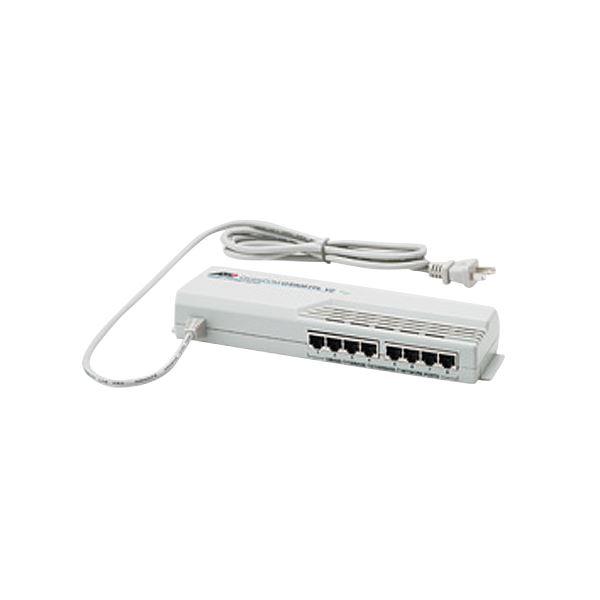 アライドテレシス CentreCOMギガビットイーサーネット・タップスイッチ 8ポート GS908TPLV2R 1台