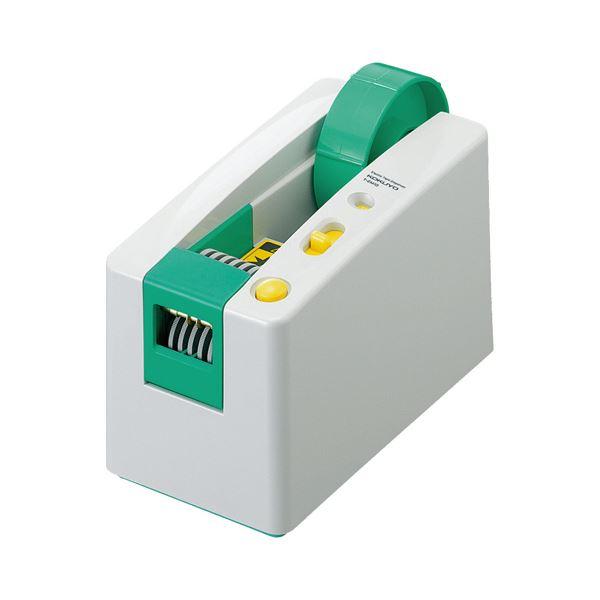 コクヨ 電動テープカッター大巻・小巻両用 W94×D173×H117mm T-EM10 1台