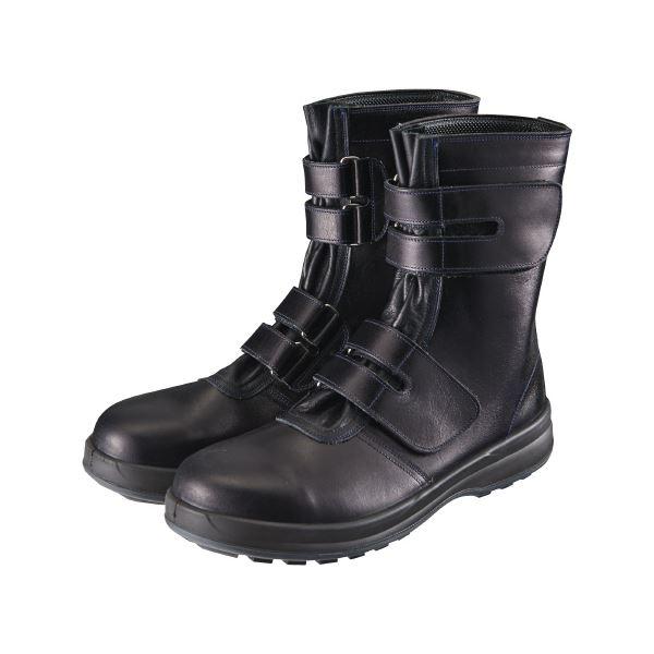 シモン SX3層底Fソール安全靴 8538黒 25.0cm