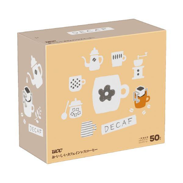 (まとめ)UCC カフェインレスドリップコーヒー7g×50袋(×20セット)