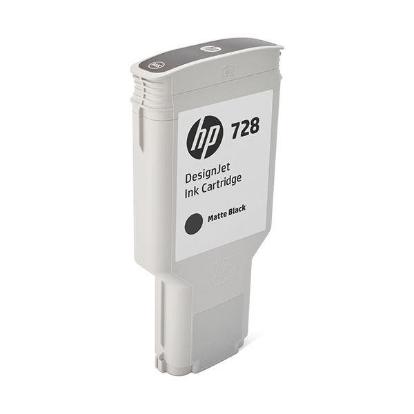 HP HP728 インクカートリッジブラック 300ml F9J68A 1個