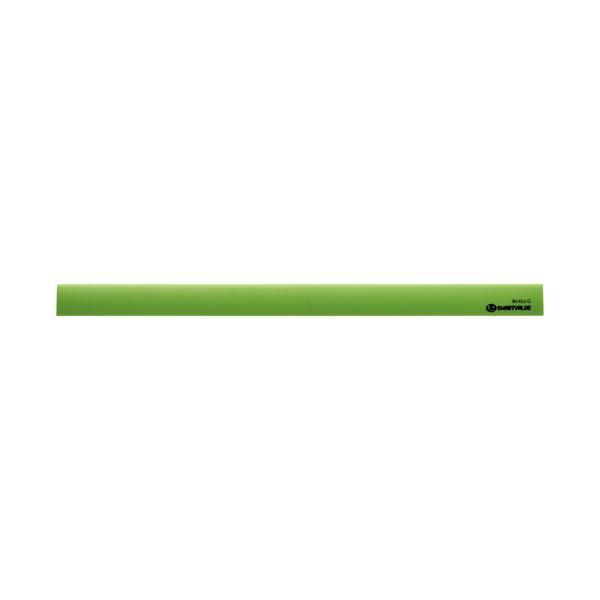 (まとめ) スマートバリュー マグネットバー220mm 緑 10本 B440J-G-10【×5セット】
