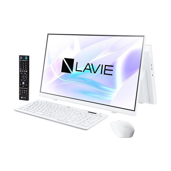 NECパーソナル LAVIE Home All-in-one - HA770/RAW ファインホワイト PC-HA770RAW