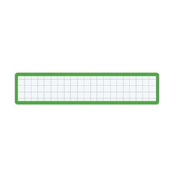 (まとめ)コクヨ マグネット見出しカード寸法19×105mm 緑 マク-411G 1セット(10個)【×5セット】