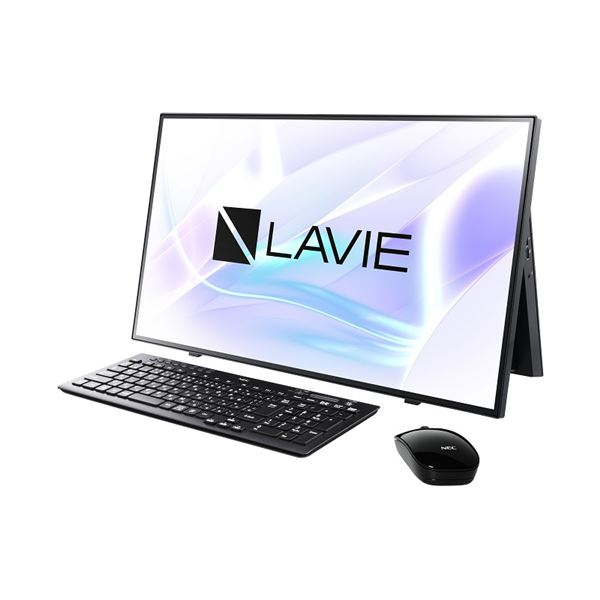 NECパーソナル LAVIE Home All-in-one - HA700/RAB ファインブラック PC-HA700RAB