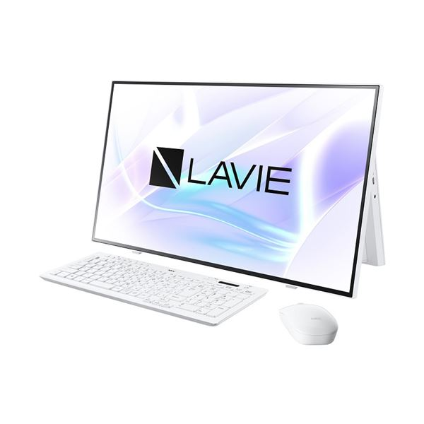 NECパーソナル LAVIE Home All-in-one - HA700/RAW ファインホワイト PC-HA700RAW