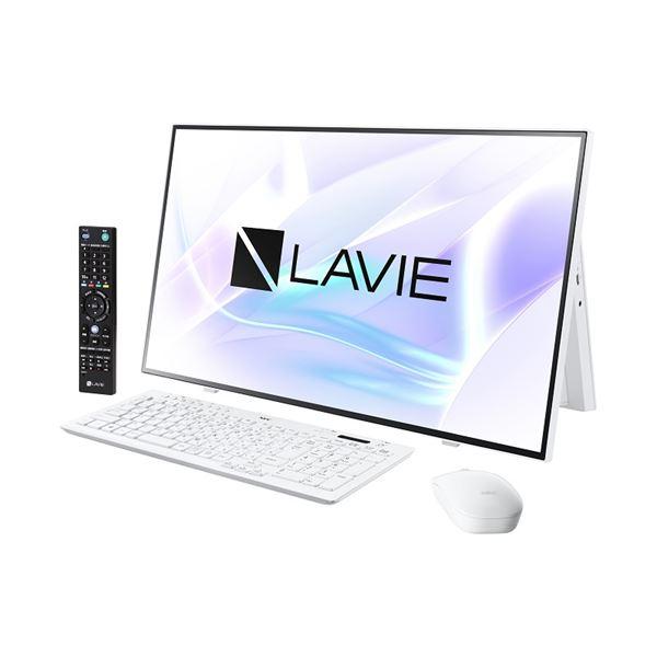 NECパーソナル LAVIE Home All-in-one - HA970/RAW ファインホワイト PC-HA970RAW