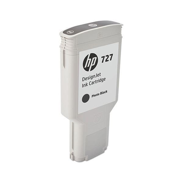 HP HP727 インクカートリッジフォトブラック 300ml F9J79A 1個