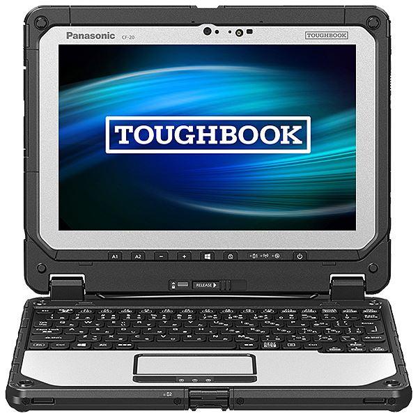パナソニック TOUGHBOOK CF-20 (Corei5-7Y57vPro/8GB/SSD256GB/Win10Pro64Bit/10.1型WUXGA/電池10.5H) CF-20E0193VJ