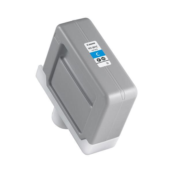 キヤノン インクタンク PFI-301顔料シアン 330ml 1487B001 1個